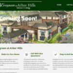 Evergreen at Arbor Hills web development and hosting