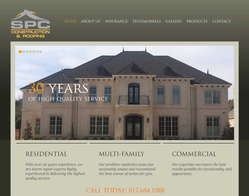spcgc roofing email and web hosting