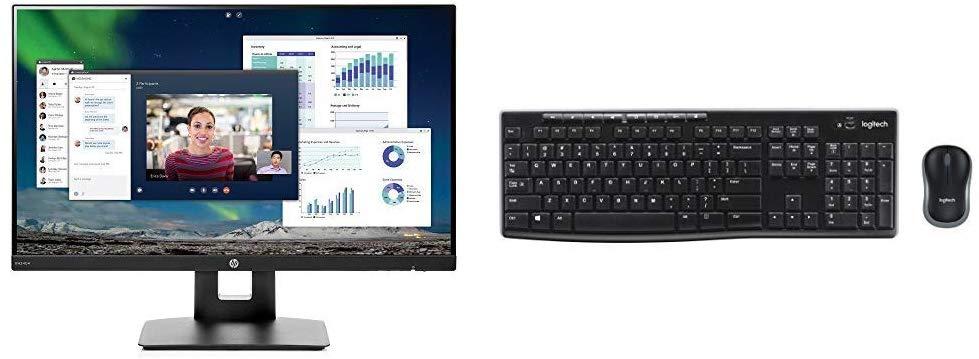 Monitor + Keyboard + Mouse Combo